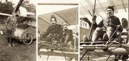 Portraits of pioneer aviators
