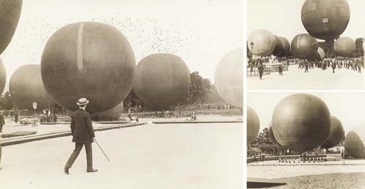 Early ballooning, balloons and