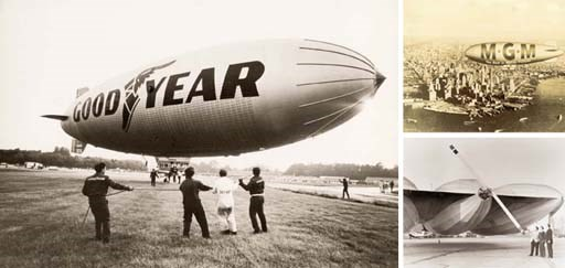 U.S. and Russian blimps, and m