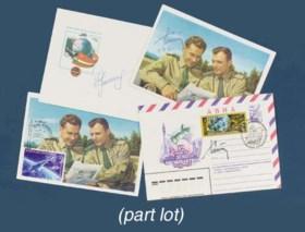 Yuri Gagarin, Gherman Titov and Nikolai Rukavishnikov,