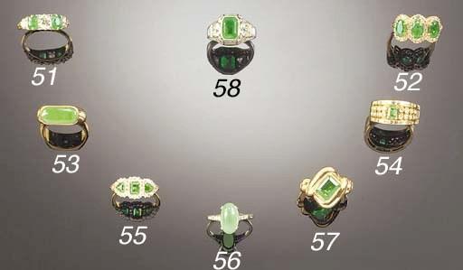 A jade ring,