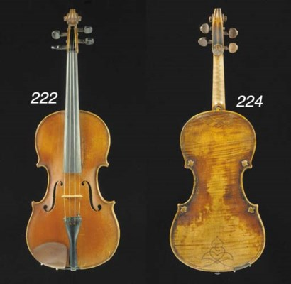 A good Mirecourt violin by Ch.