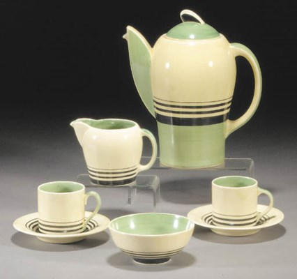 A Susie Cooper coffee set for