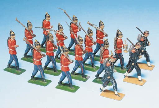Conjoint tinplate 65mm. Scale