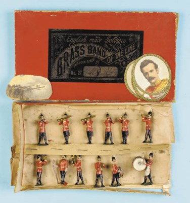 Britains Set 27 Brass Band of