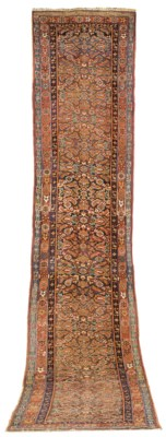 An antique Bijar runner, Nort-