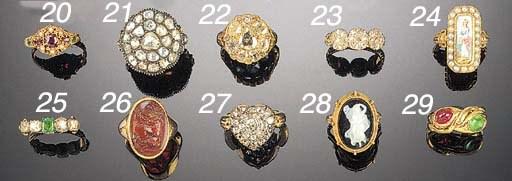 An Ottoman rose-cut diamond