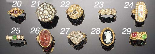 A 19th Century gold and diamon
