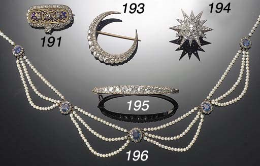 A 19th Century diamond twelve