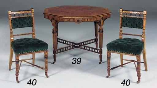 A set of four late Victorian o
