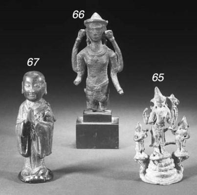 A Pala bronze group 10th Centu