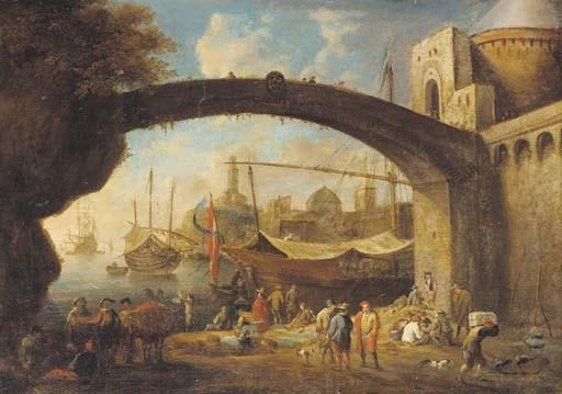 Circle of Anton Goubau (1616-1