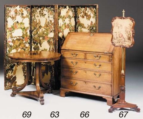 A rosewood, kingwood, mahogany