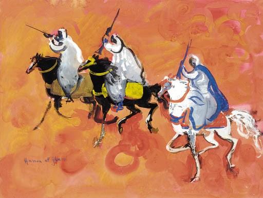 A desert scene Hassan Al Glaou