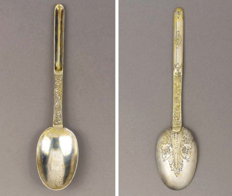 A WILLIAM AND MARY SILVER-GILT