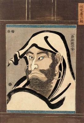 Kuniyoshi, oban tate-e Circa 1