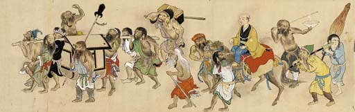 A makemono 19th century