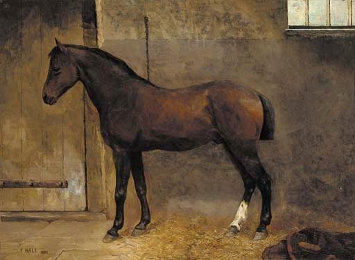 F. Hall, circa 1880