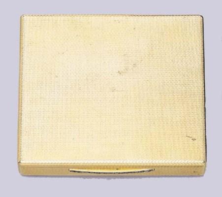 A CIGARETTE CASE, BY BULGARI