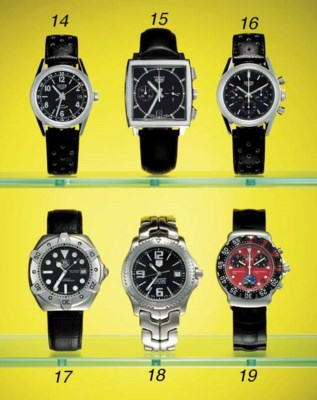TAG Heuer. A stainless steel w
