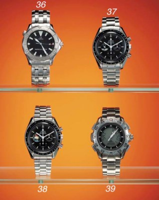 Omega. A stainless steel limit