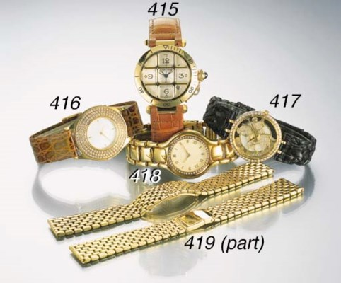 Ebel. An 18K gold and diamond-