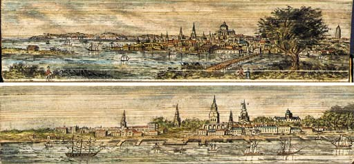 [FORE-EDGE PAINTING.] GILPIN,