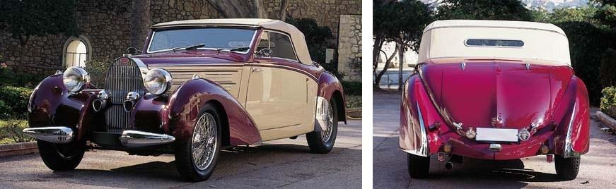 1939 BUGATTI TYPE 57 ARAVIS CA