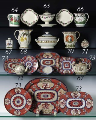 AN ASSEMBLED ENGLISH PEARLWARE