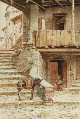 Scipione Simoni (Italian, 1853