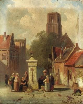 Charles Leickert (Belgian, 181