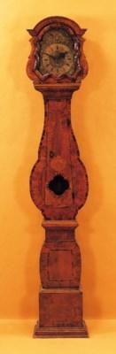A GERMAN ROCOCO FRUITWOOD WALN