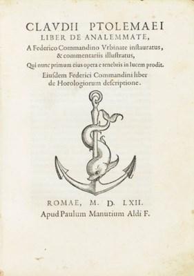PTOLEMAEUS, Claudius. Liber de
