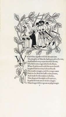 CHAUCER, Geoffrey. The Canterb