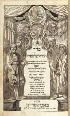 HAGGADAH -- Seder Haggadah she