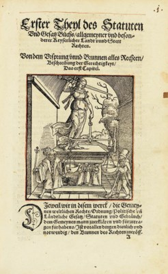 GÖBLER, Justin, editor. Statut