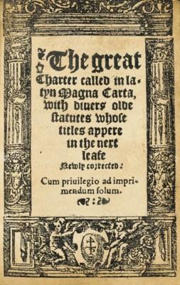 MAGNA CARTA. The Great Charter