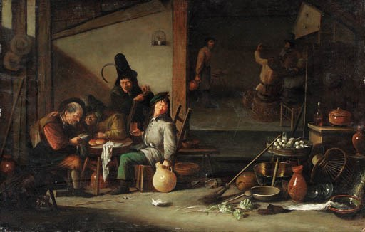 Circle of Cornelis Saftleven (