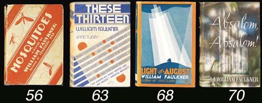 FAULKNER, William. Light in Au