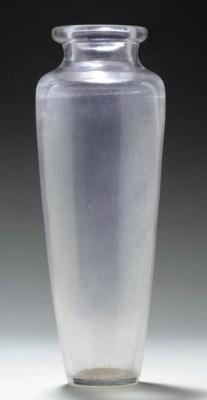 An Unusual Clear Glass High-Sh