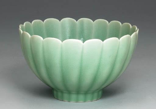 An Unusual Celadon-Glazed Chry