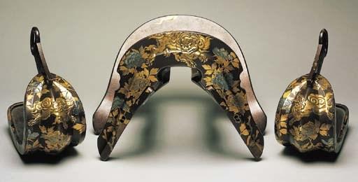 A Saddle (Kura) And Matching S