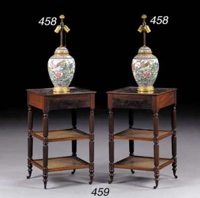 A PAIR OF ORMOLU-MOUNTED SAMSO