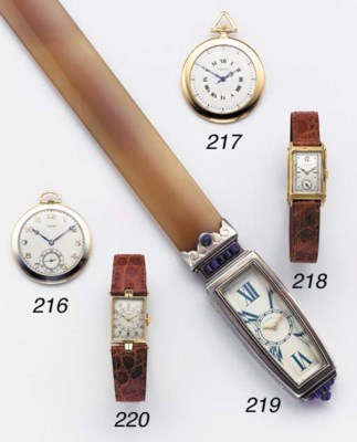 Cartier. A rare and unusual si