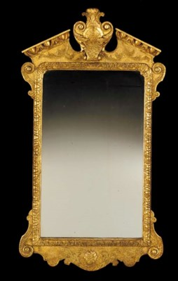 A GEORGE I GILT-GESSO AND GILT