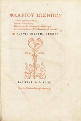 JOSEPHUS, Flavius (ca. 37-ca.