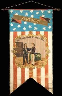 AMERICAN SCHOOL, CIRCA 1860