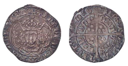 Henry VII, Groat, 2.83g., clas