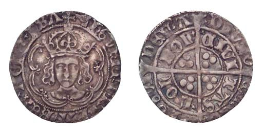 Henry VII, Groat, 2.92g., clas