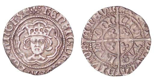 Henry VII, Halfgroat, 1.46g.,